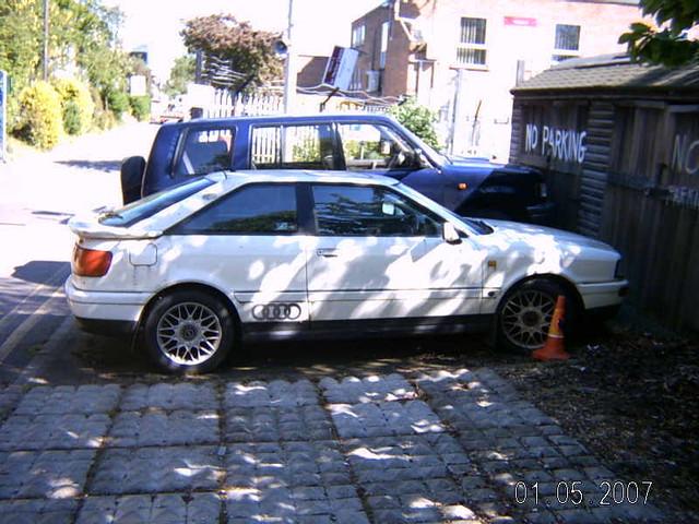 MARCH 1994 AUDI COUPE 16V L459KEE   Registration L459KEE Mak…   Flickr