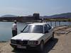 Mercedes na přívozu, foto: Petr Nejedlý