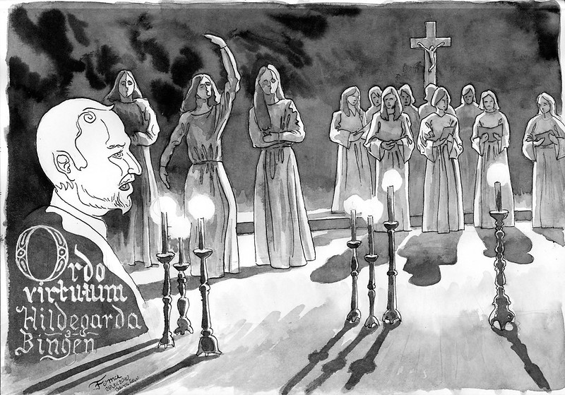 "Hildegarda von Bingen ""Ordo virtuum"""