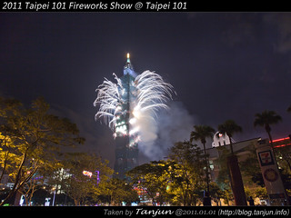 2011 Taipei 101 Fireworks Show @ Taipei 101   by tanjun