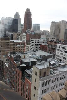 Downtown detroit!!!