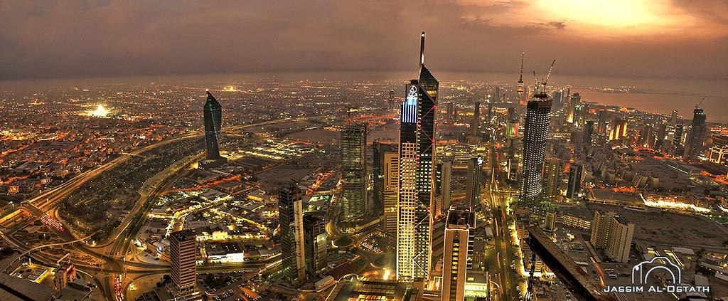 Kuwait Landscape View On Black Jassim Al Ostath Flickr