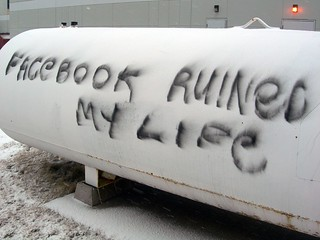 Facebook Graffiti, Halifax, Nova Scotia