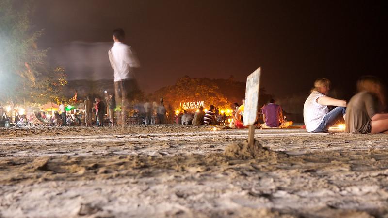 New Year Eve @ Cenang beach