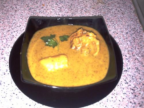Inchicapi, comida típica de la selva peruana.