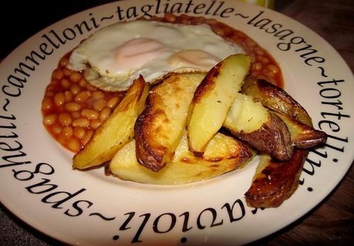 Slimming world chips N egg