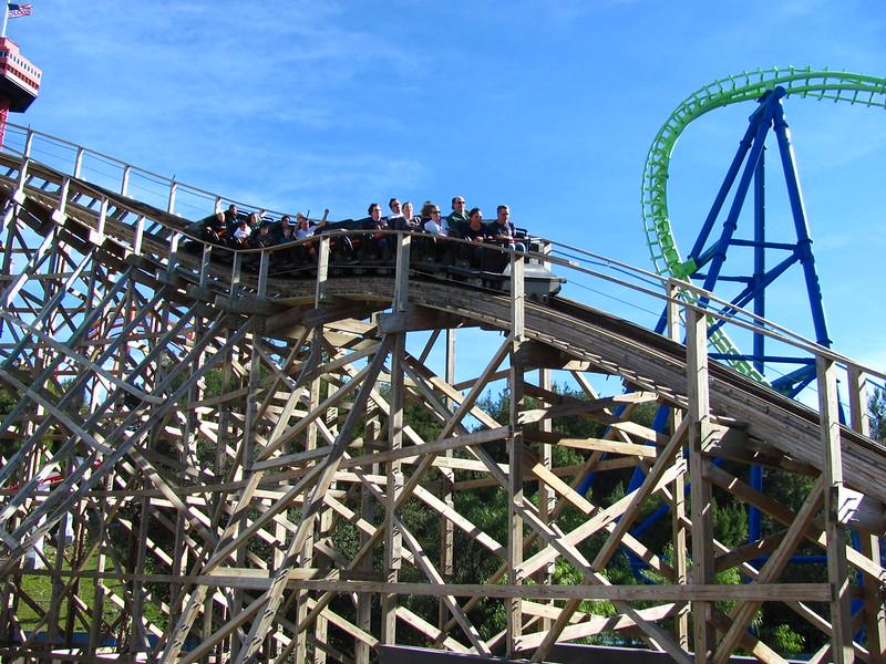Six Flags Magic Mountain Apocalypse the Ride