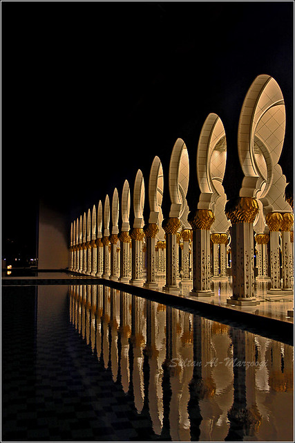 Zayed Masjid from the side