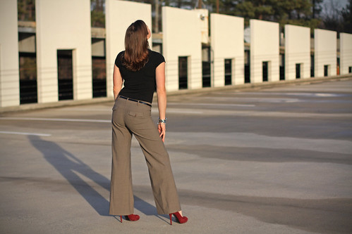 sunset fashion highheels blogger wideleg