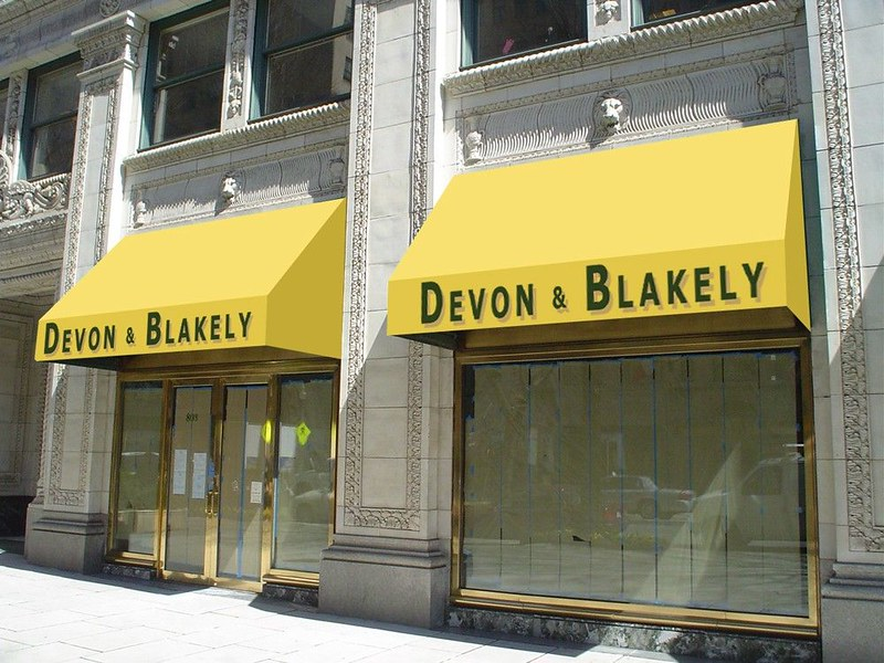 Commercial Awnings Baltimore Hoffman Awnings Rendering