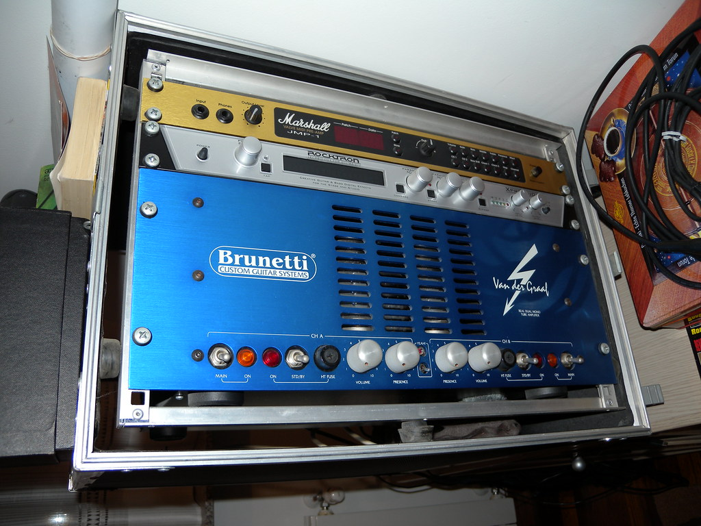 Marshall JMP-1 preamp Rocktron Xpression effects Brunetti