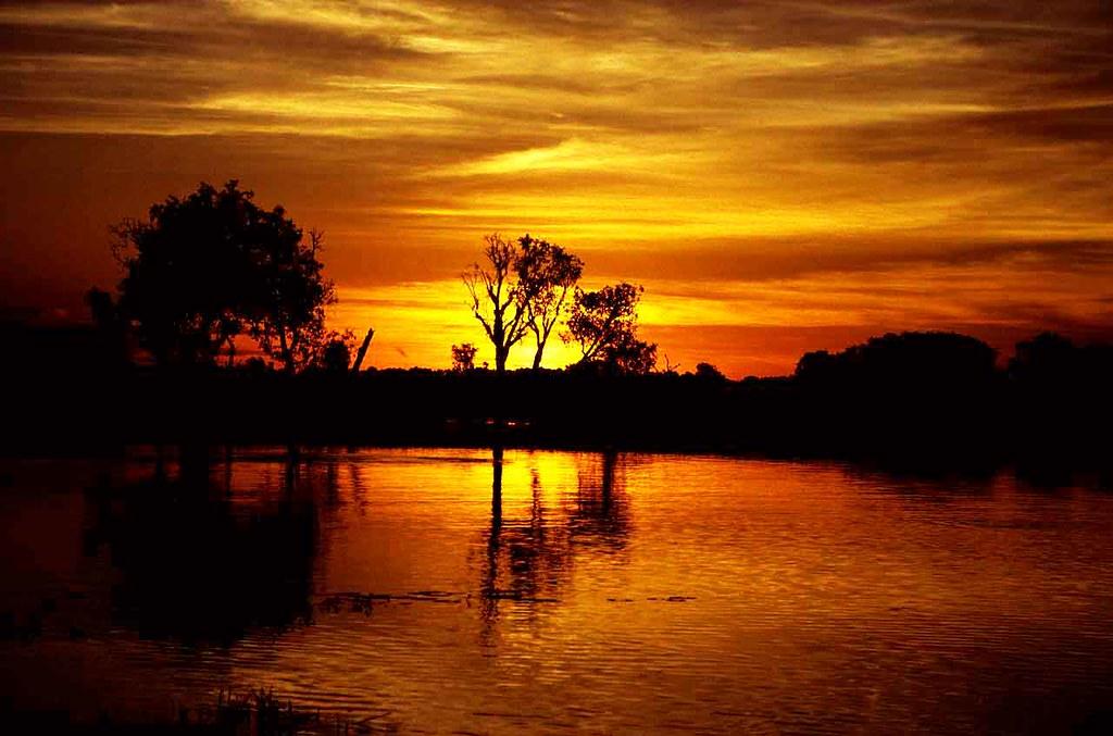 Sunrise on Kakadu Yellow Waters - Northern Territory Australia