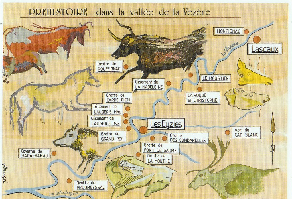 Image result for Decorated Caves of the Vézère Valley