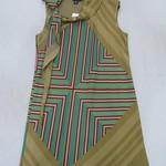 101130-21 DKNY 纺丝缎裙 2 4 6 浅黄色-灰色 批180 胸100 长85