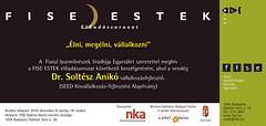 2010. december 2. 22:32 - FISE Estek: Dr. Soltész Anikó