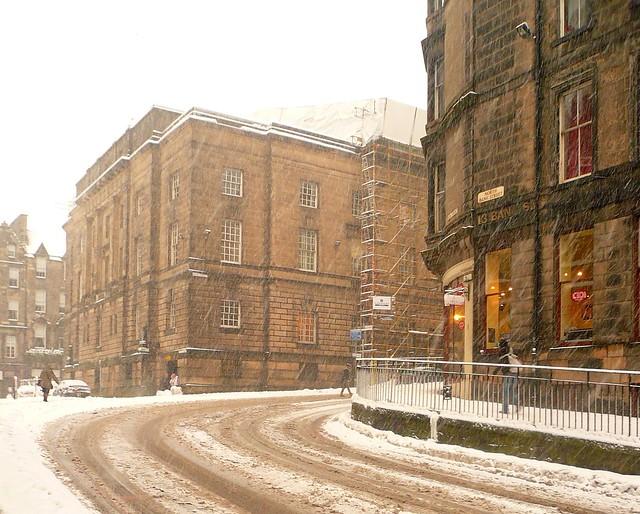 Edinburgh: North Bank Street