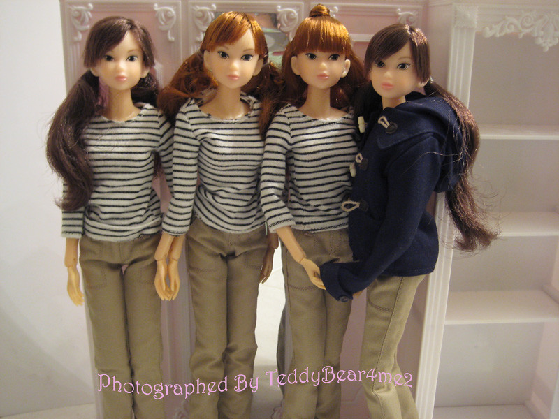 My Identical Quadruplets One Can Never Have Too Many Momok Flickr