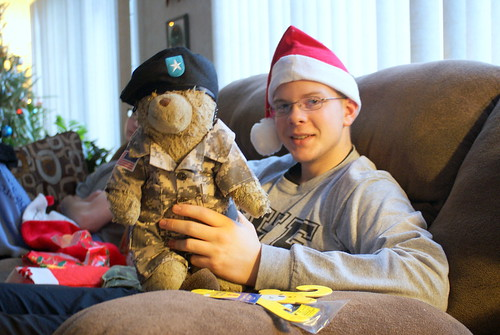 Ben with His General Sarge Bear 01 | by drrus2000