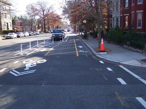 15th Street cycletrack, DC