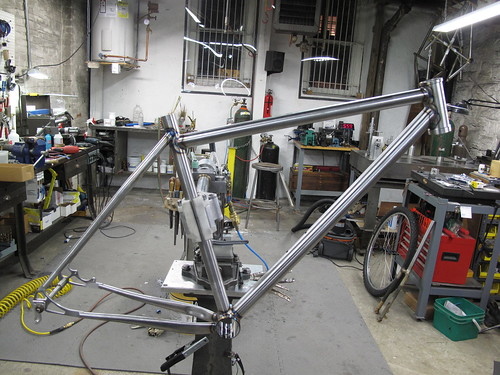 All welded