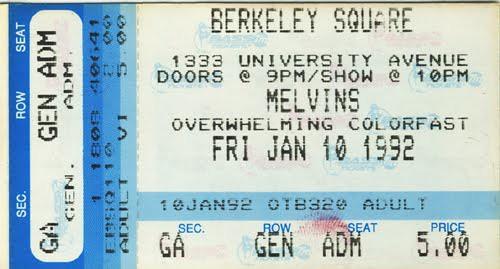 Melvins - 1992