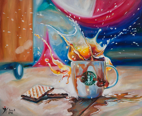 Coffee Splash! | by Yulia Katkova