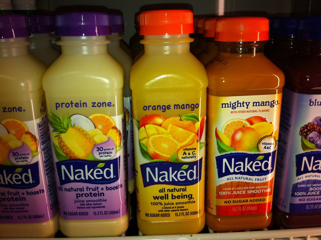 Naked juice boosted green machine juice smoothie