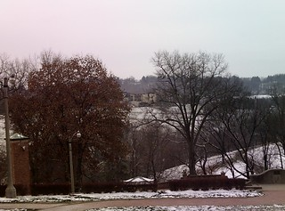 VIEW FROM BEHIND THE MANSION