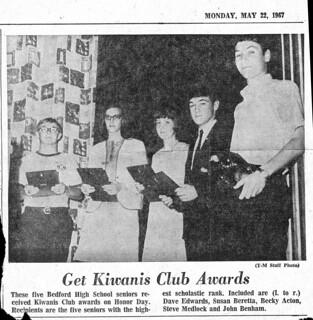 Father in Kiwanis Club