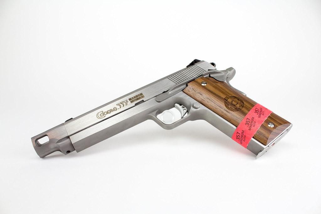 Coonan 357 Magnum 1911 5 7 Threaded Barrel w-Compensator-6… | Flickr