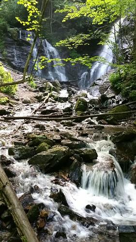 nature water landscape waterfall hiking northcarolina cherokeenc socofalls samsunggalaxynote