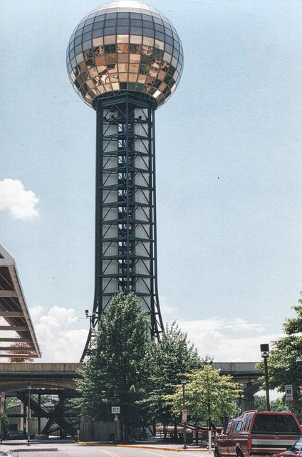 Knoxville Tennessee ~ Sunsphere ~ Worlds Fair 1982