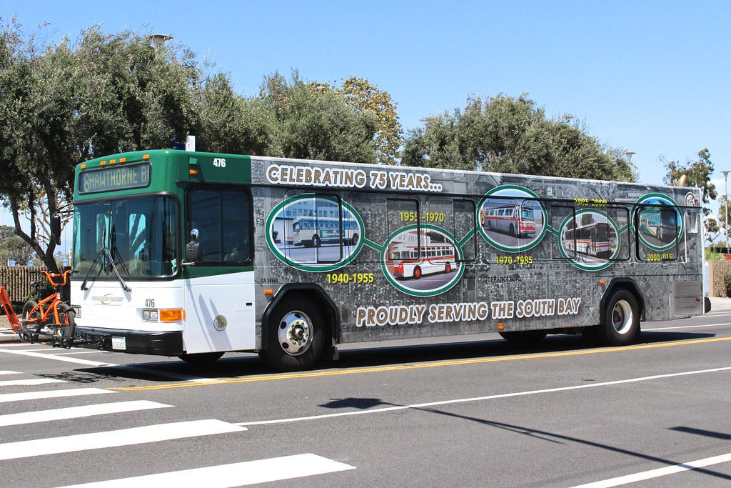 Torrance Transit | Gillig Advantage bus in Los Angeles with