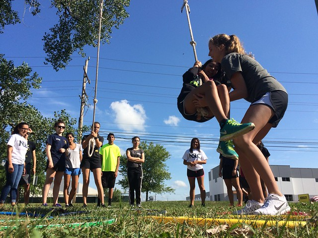 NSLC Medicine: Team Challenge Course August 6, 2015