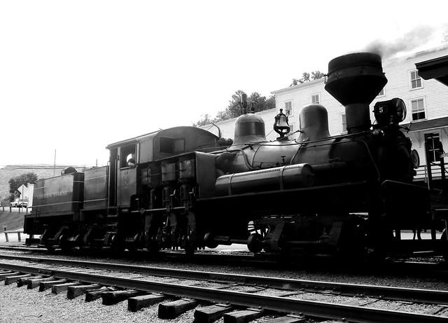 Shay Steam Locomotive Cass West Virginia