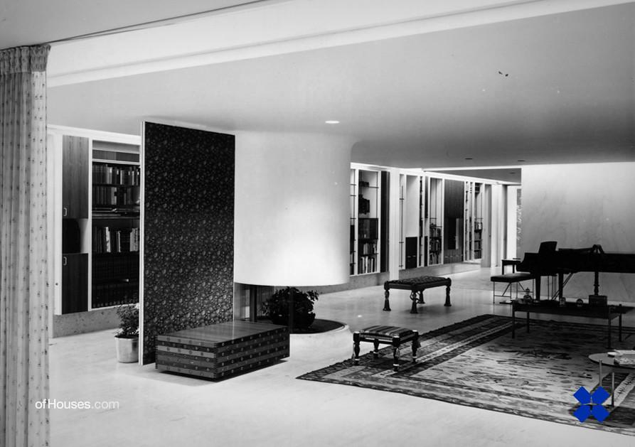 Eero Saarinen Kevin Roche Miller House Columbus Flickr