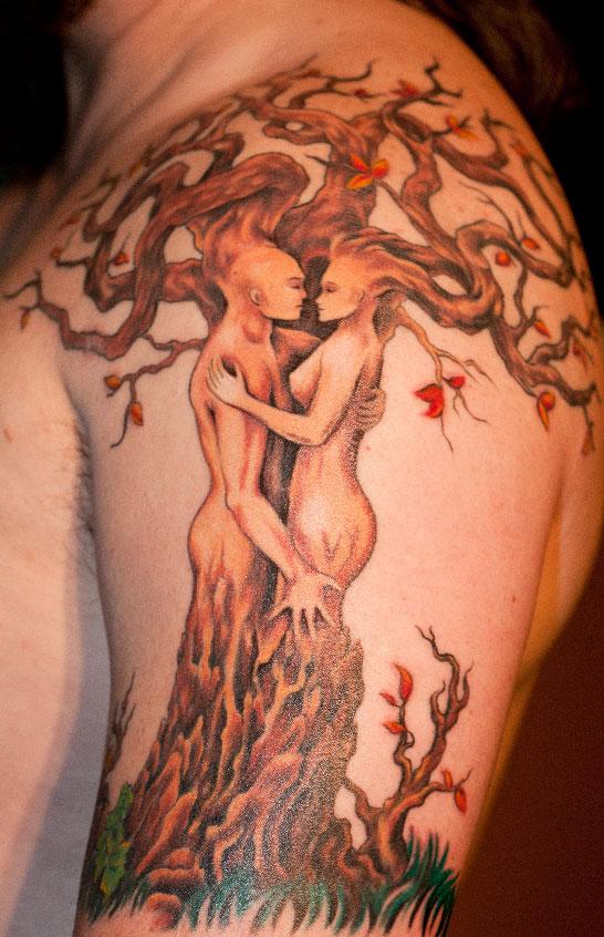 Tree Goddess Tattoo