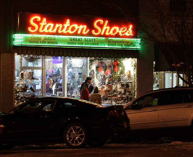 Window Shopping at Stanton Shoes