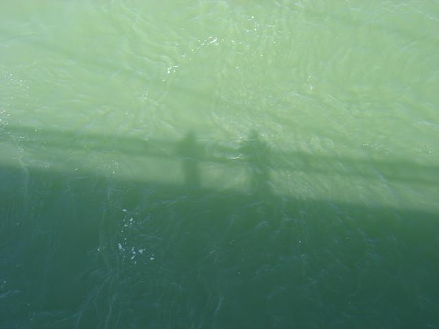 Naomi and Me as Shadows