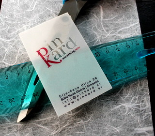 Clear transparent plastic business cards | by Pinkograf by Pinkard
