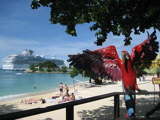 The Coral Princess in Ocho Rios, Jamaica