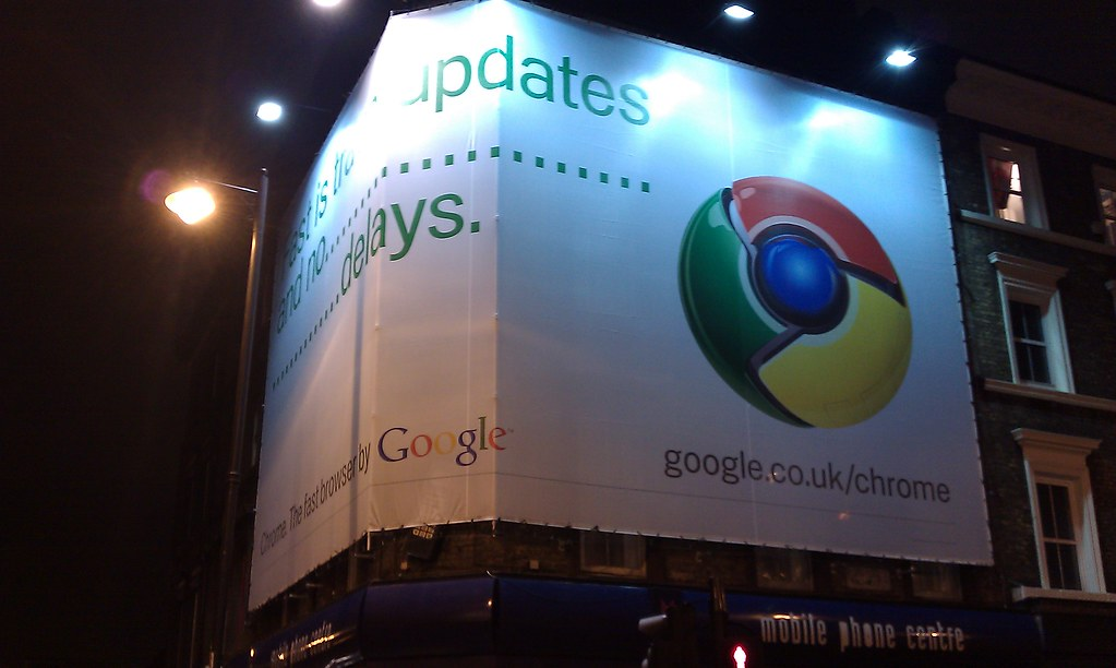 Google Chrome is everywhere