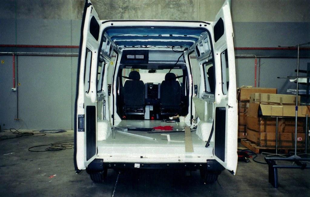 2002 Ford VH Transit ambulance