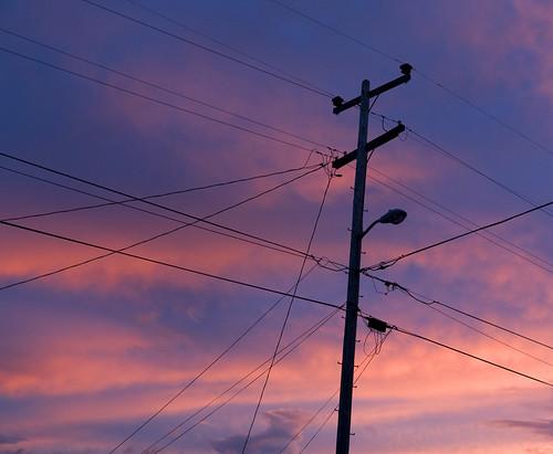 sunset northerncalifornia clouds humboldt wires arcata telephonepole humboldtcounty sunnybrae