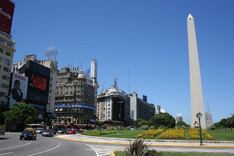 Obelisco - Plaza de la República   San Nicolás   Buenos-Aires