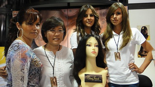 Helen of NHA at Beauty Expo | by newhairinc