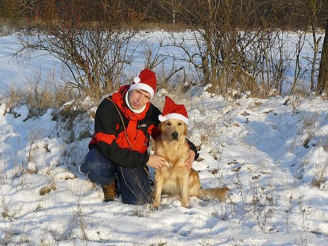 2009_12_24 - foto na PF a druhé Vánoce