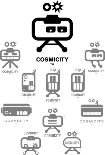 The Cosmicity Logobot Evolution | by Jamie Latendresse