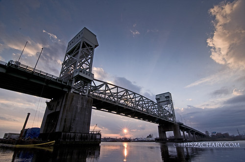 bridge sunset river landscapes nc northcarolina wilmington tokina1116mmf28 nikond300bridge