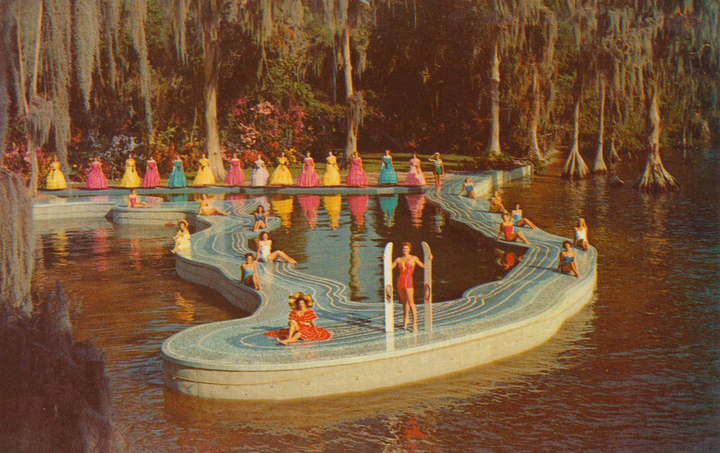 The Esther Williams Swimming Pool - Cypress Gardens, Flori ...